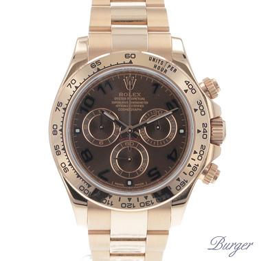 Rolex - Daytona Everose Gold Arabic Choco Dial