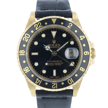 Rolex - Gmt-Master II Yellow Gold