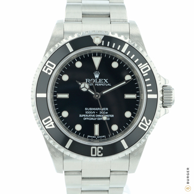 Rolex - Submariner No-Date Rehaut engraving