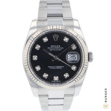 Rolex - Datejust 36 Fluted Diamond Dial