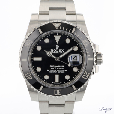 Rolex - Submariner Date Black Ceramic NEW! 2020