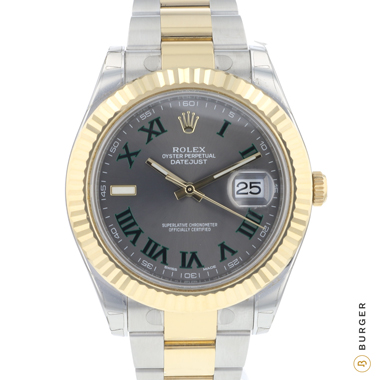 Rolex - Datejust II Wimbledon Fluted NEW!
