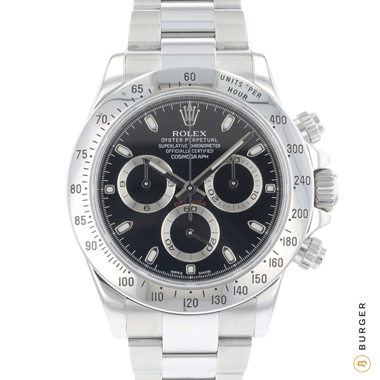 Rolex - Daytona Steel Black Dial