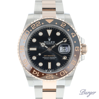 Rolex - Gmt-Master II Steel/Everosegold 126711 CHNR NEW!