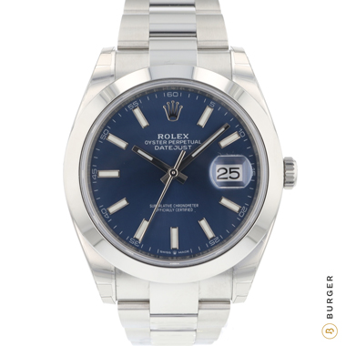 Rolex - Datejust 41 Blue Dial NEW IN STICKERS!