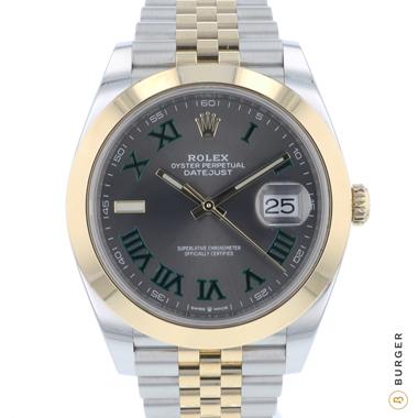 Rolex - Datejust 41 Gold/Steel Wimbledon