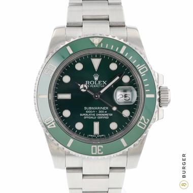 Rolex - Submariner Date Green 116610LV