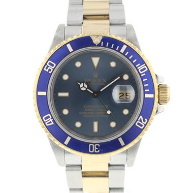 Rolex - Submariner Date Blue Gold/steel 16803