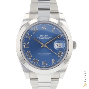 Rolex - Datejust 41 Blue Dial NEW!