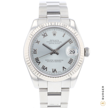 Rolex - Datejust Midsize Steel / Whitegold Bezel