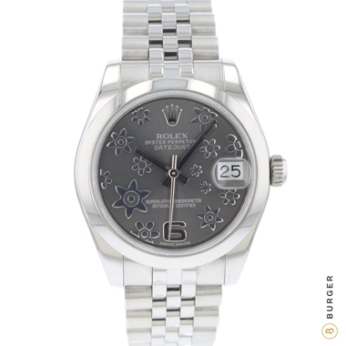 Rolex - Datejust 31 Midsize Flower Dial