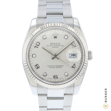 Rolex - Oyster Perpetual Date 34 Fluted