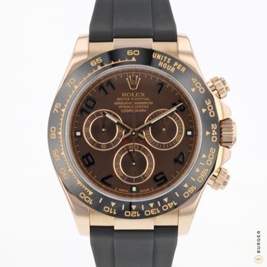 Rolex - Daytona Everose Gold Chocolate Dial