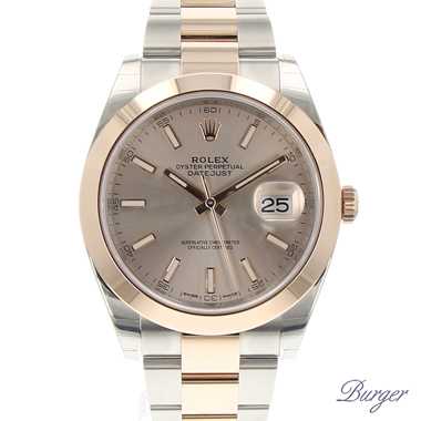 Rolex - Datejust 41 Rolesor Everose NEW!