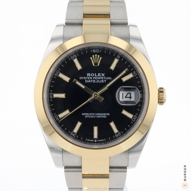 Rolex - Datejust 41 Gold/Steel Black Dial