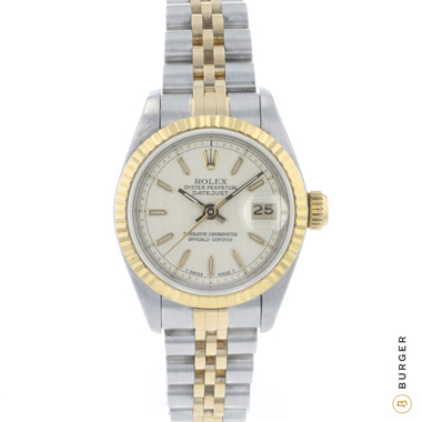 Rolex - Datejust 26 Lady Gold/Steel Logo Dial