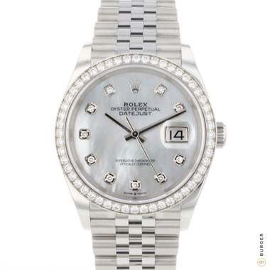 Rolex - Datejust 36 MOP Diamonds NEW!