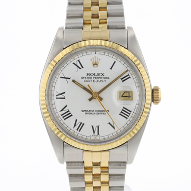 Rolex - Datejust 36 Steel/Gold Jubilee Buckley Dial