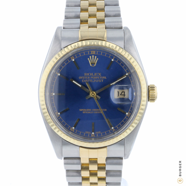 Rolex - Datejust 36 Gold/Steel Jubilee Blue Dial