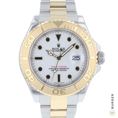Rolex - Yachtmaster 40 Steel / Gold Rehaut!