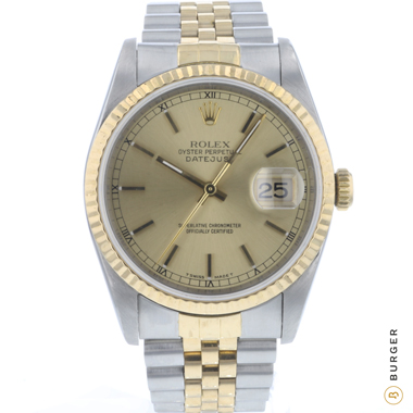 Rolex - Datejust 36 Jubilee Gold/Steel