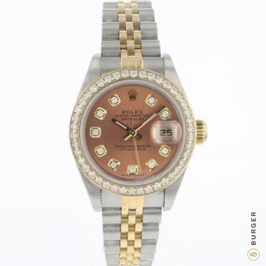 Rolex - Datejust 26 Gold/Steel Jubilee Diamonds