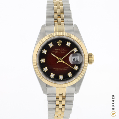 Rolex - Datejust 26 Gold/Steel Vignette Diamond Dial