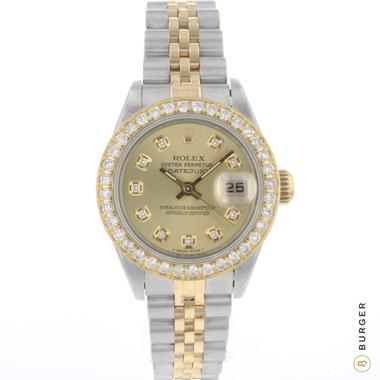 Rolex - Datejust 26 Gold/Steel Diamonds