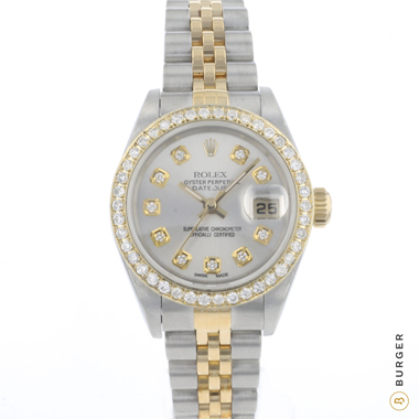 Rolex - Datejust 26 Gold/Steel Diamonds