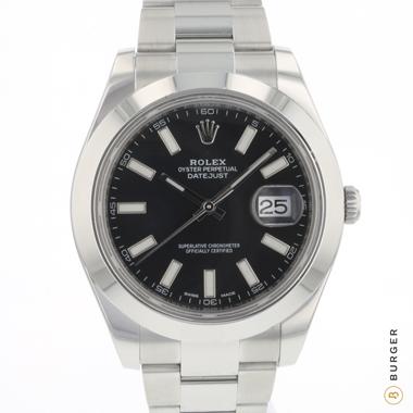 Rolex - Datejust II Black Dial