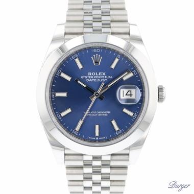 Rolex - Datejust 41 Jubilee Blue Dial
