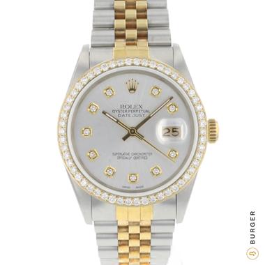 Rolex - Datejust 36 Gold/Steel Jubilee Diamonds