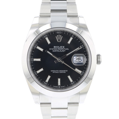 Rolex - Datejust 41 Oyster Black Dial BRAND NEW!