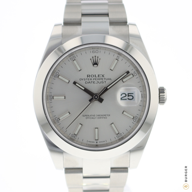 Rolex - Datejust 41 Silver Dial NEW!
