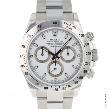 Rolex - Daytona Steel White APH Dial NEW!