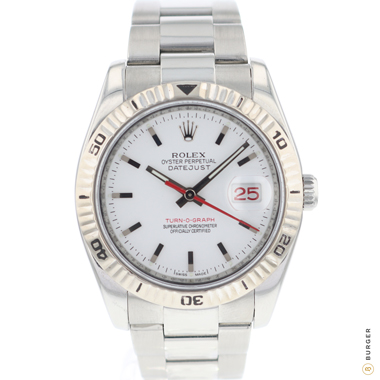 Rolex - Datejust 36 Turn-O-Graph White Dial