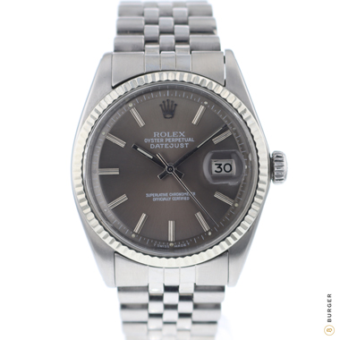 Rolex - Datejust 36 Fluted  Jubilee Grey Dial