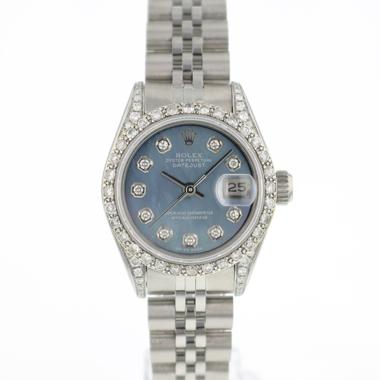 Rolex - Datejust Lady 26 Jubilee Blue MOP Diamonds