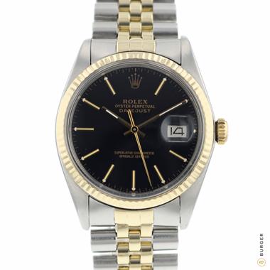 Rolex - Datejust 36 Gold/Steel Jubilee black dial