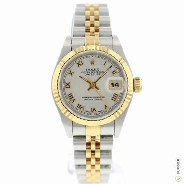 Rolex - Datejust 26 Gold/Steel Jubilee MOP Dial