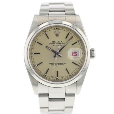 Rolex - Datejust 36 silver