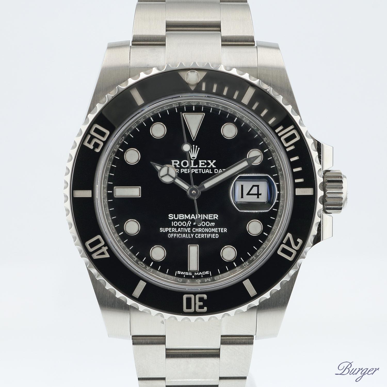 Submariner Date Black Ceramic NEW 10