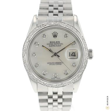 Rolex - Datejust 36 MOP Dial Diamonds