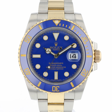 Rolex - Submariner Date Steel / Gold  Blue Dial