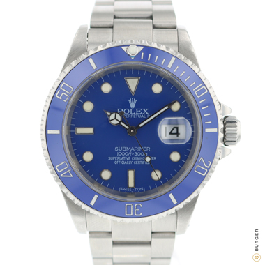 Rolex - Submariner Date Custom Blue