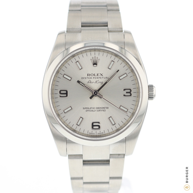 Rolex - Oyster Perpetual Air-King 34 Silver
