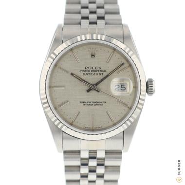 Rolex - Datejust 36 Jubilee Linen Dial