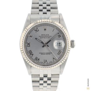Rolex - Datejust 36 Jubilee Silver Roman Rhodium Dial