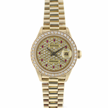 Rolex - Datejust 26 Gold Diamonds