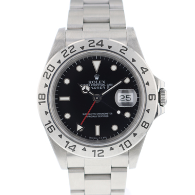 Rolex - Explorer II Black Dial
